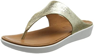 fee92a933e69 Fitflop Women s Banda Ii Toe-Thong Sandals-Metallic Open  Amazon.co ...