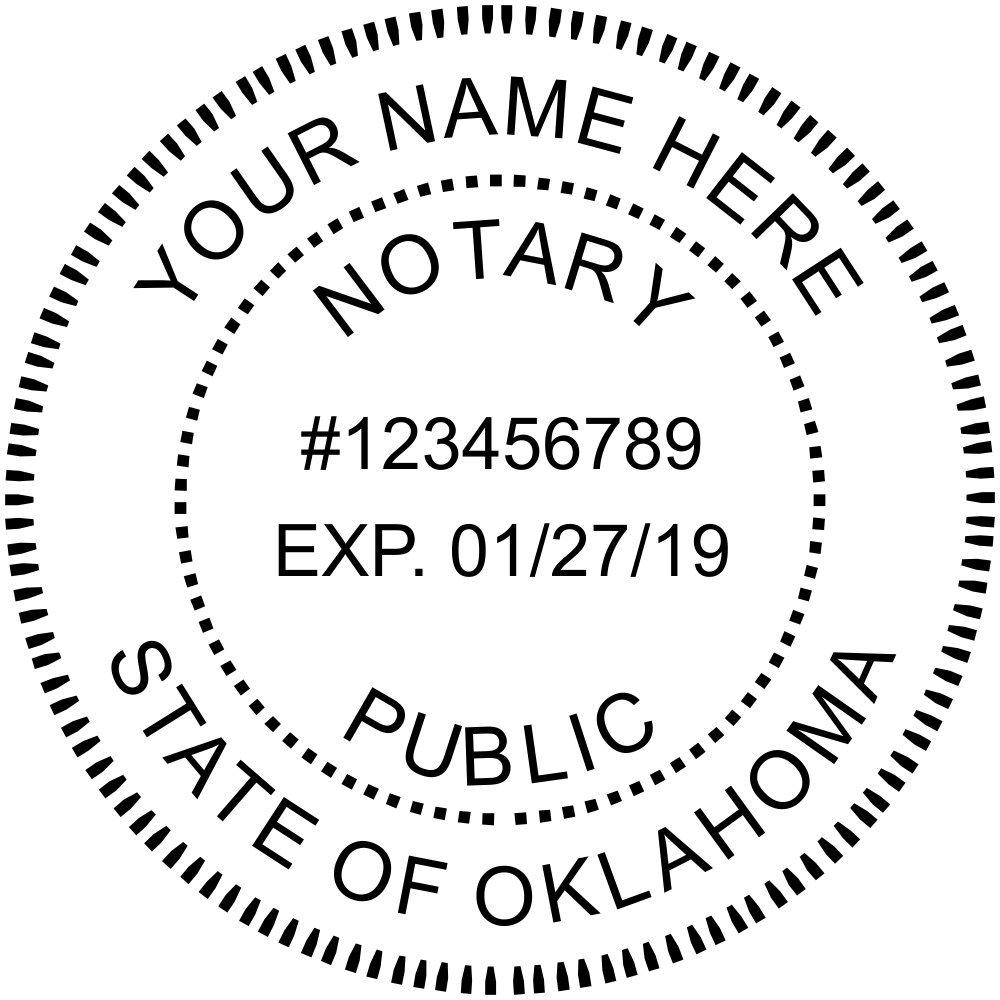 Oklahoma Notary Stamp