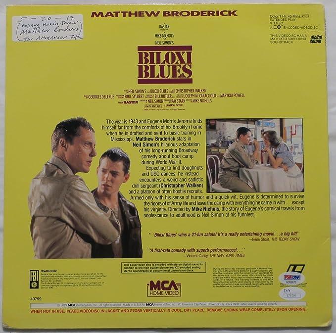 Matthew Broderick Signed Biloxi Blues Authentic Autographed Album