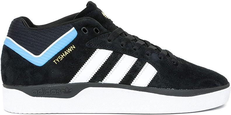 adidas Skateboarding Tyshawn Core Black White Light Blue