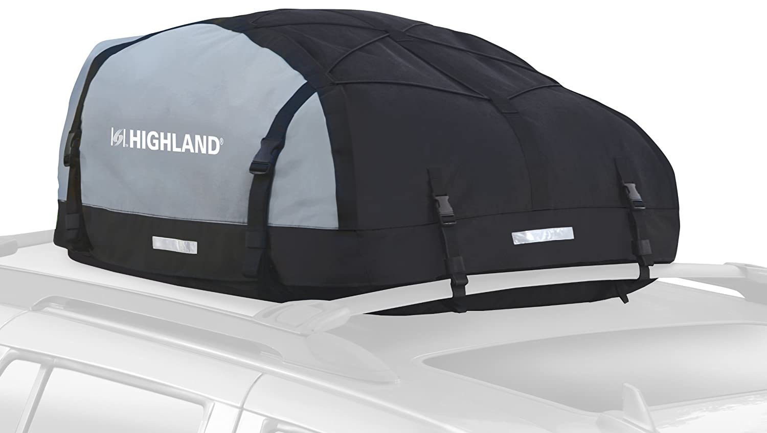Amazon.com Highland 1039800 Black/Gray 10-15 cu.ft. Expandable Car Top Bag Automotive  sc 1 st  Amazon.com & Amazon.com: Highland 1039800 Black/Gray 10-15 cu.ft. Expandable Car ...