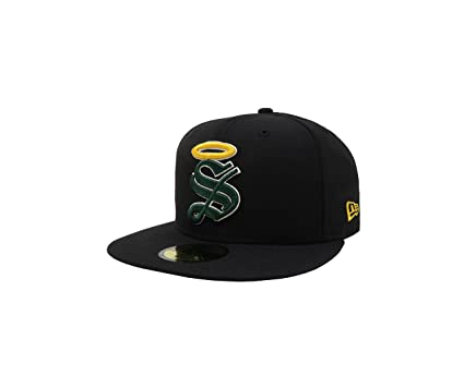 New Era 59Fifty Hat Santos Laguna Soccer Club Mexican League Black Headwear Cap (6 7