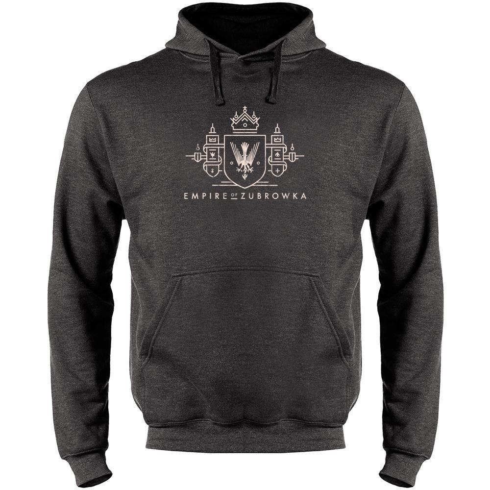 Pop Threads Empire of Zubrowka Mens Fleece Hoodie Sweatshirt