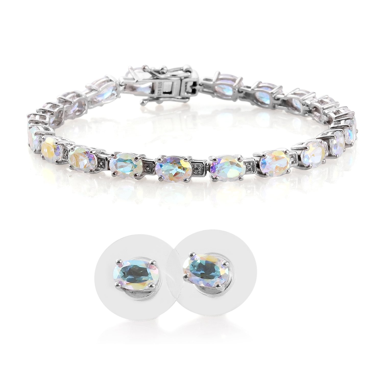 Paxuan Womens Silver//Gold Plated Clear White Champagne Rhinestone Crystal Pierced Wedding Bridal Teardrop Drop Dangle Earrings Jewelry Plum Blossom Earrings Jewelry Hypoallergenic
