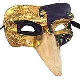 Amazon.com: Máscara veneciana Pulcinella Máscaras Drama ...