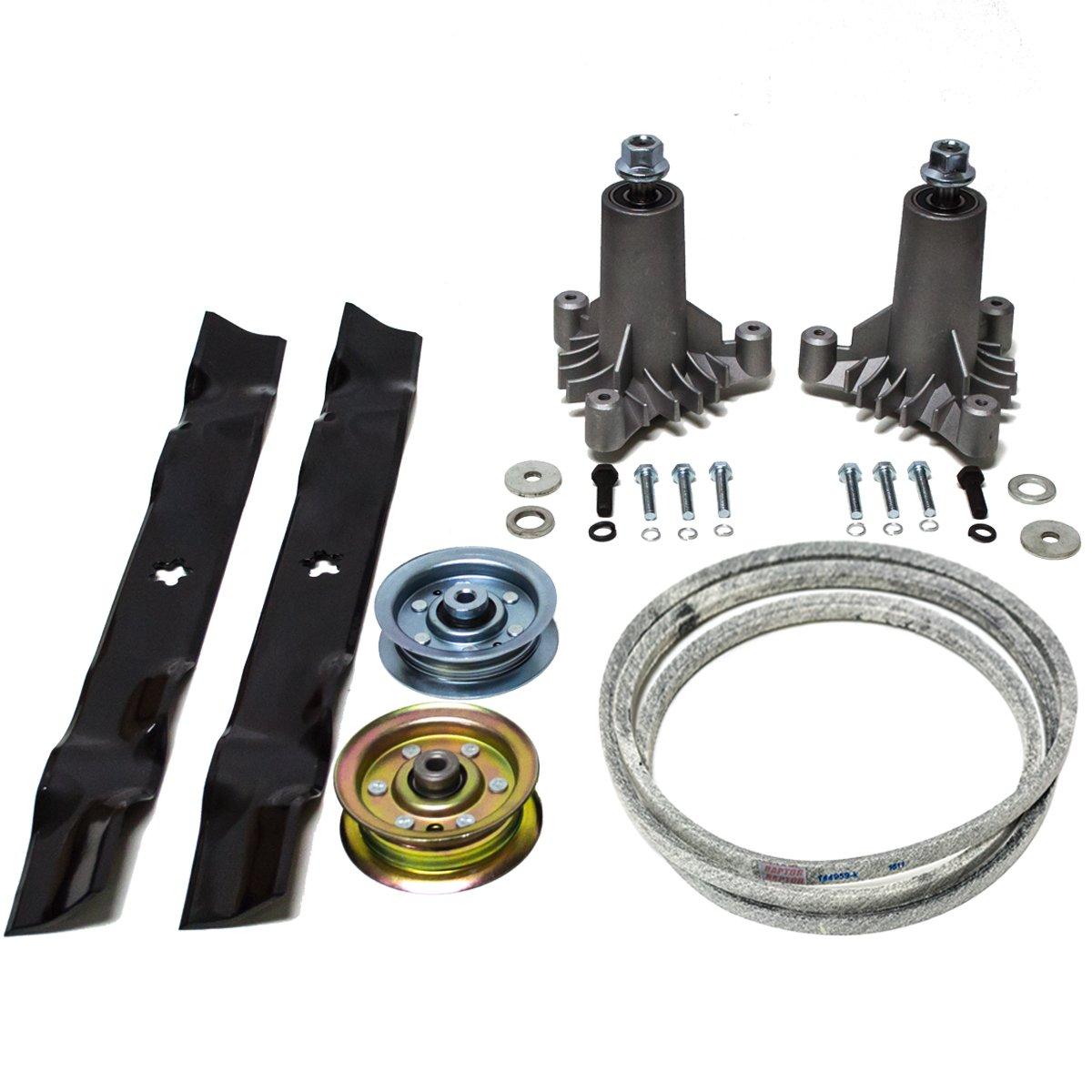 "Sears Craftsman LT2000 42/"" Lawn Mower Deck Parts Rebuild Kit 144959 134149"