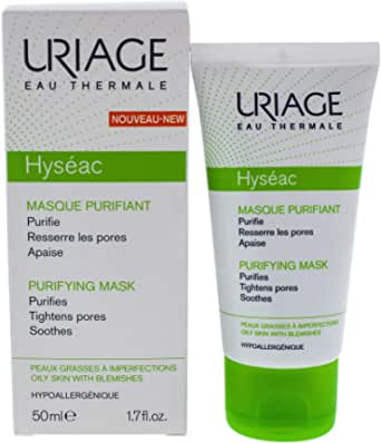Uriage Hyseac Purifying Mask, 50 ml