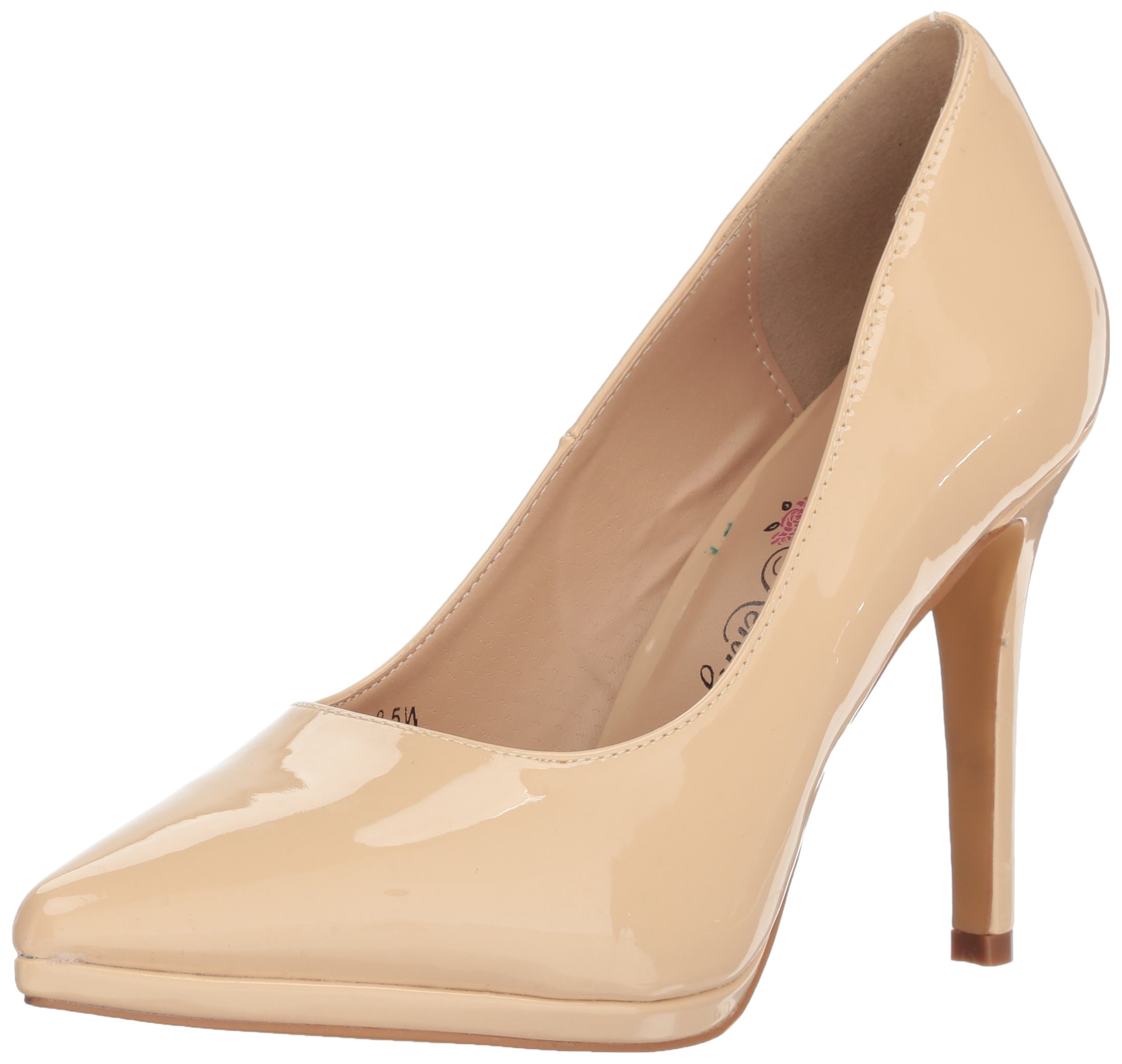 Penny Loves Kenny Women's Opus PF Platform, Nude Patent, 11 Medium US by Penny Loves Kenny