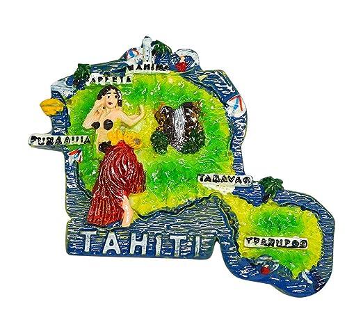 zamonji Tahiti Tahitian Dance, Polinesia Francesa | 3D Imanes para ...