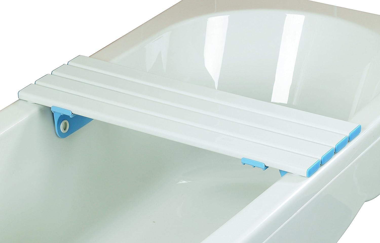 Days - Asse sedile per vasca da bagno, a doghe, lunghezza: 66 cm ...
