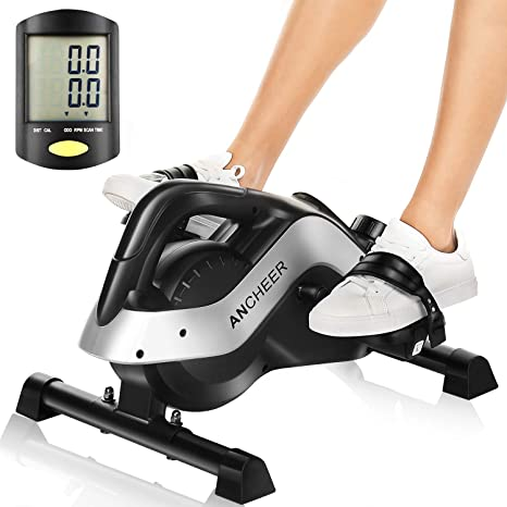 2019 Mini Exerciser Cycling Indoor Fitness Bike 2In1 Arm Leg Cardio Workout US