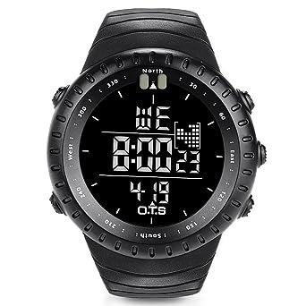 amazon com o t s men s outdoor waterproof led digital sports o t s men s outdoor waterproof led digital sports watches black