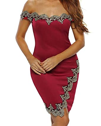 Red Sexy Bandage Midi Dress