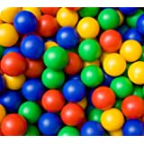 Multi-coloured Kids Balls Children's Plastic Toy Ball Pits Pool 200 per pack By HOME HUT®