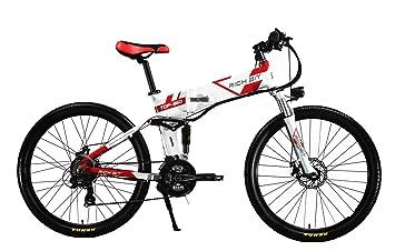 Rich Bit® RT-860 Bicicleta eléctrica de 36 V x 250 W, 12