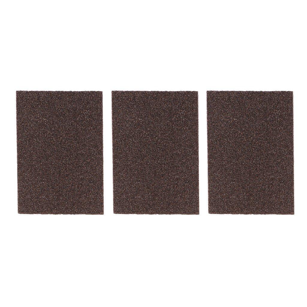 60-80 Grit D DOLITY 3 pcs Bloques de Esponja de Lijado Herramientas Manuales y El/éctricas de Bricolaje Manual