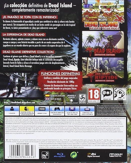 Dead Island - Definitive Collection: Amazon.es: Videojuegos
