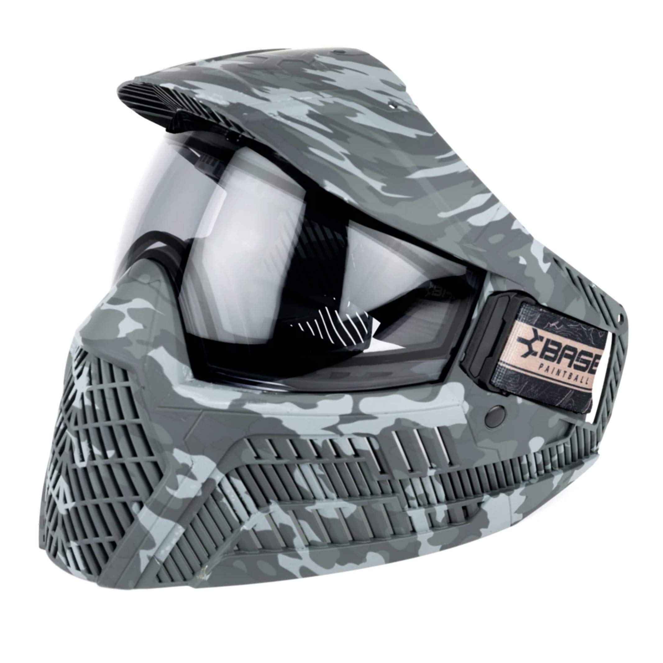 Base Paintball and Airsoft Goggle System (Dark Camo, Light Smoke Thermal) by Base Paintball