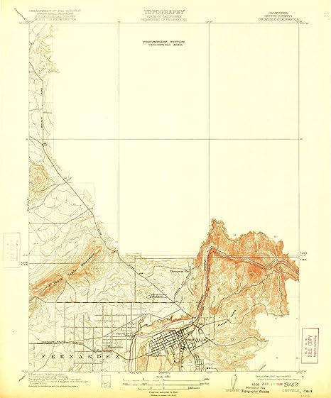 Oroville California Map >> Amazon Com Yellowmaps Oroville Ca Topo Map 1 31680 Scale 7 5 X