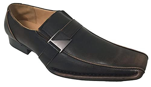 Amazon.com: Santoni Hombre Zapatos de vestir Casual ...