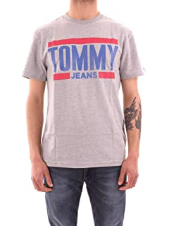 4a87e974 Tommy Hilfiger Men's T-Shirt Yellow Yellow One Size: Amazon.co.uk ...