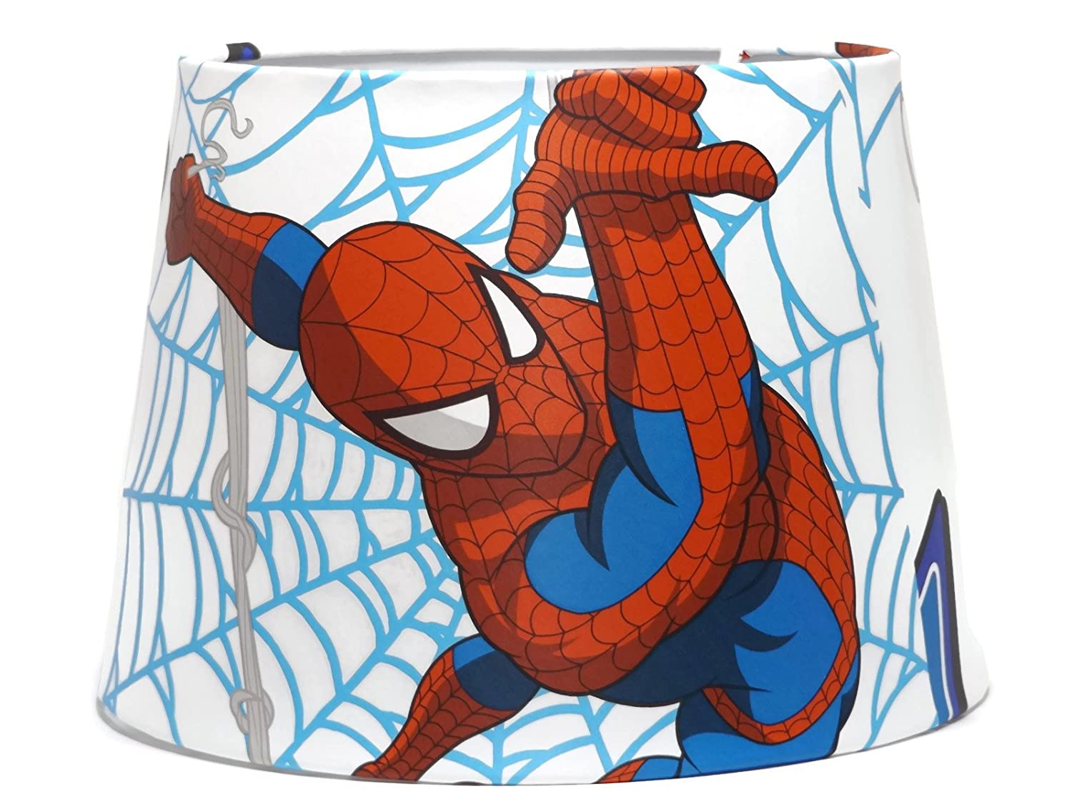 Marvel Avengers Spiderman Lampshade or Ceiling Light Shade Comic ...