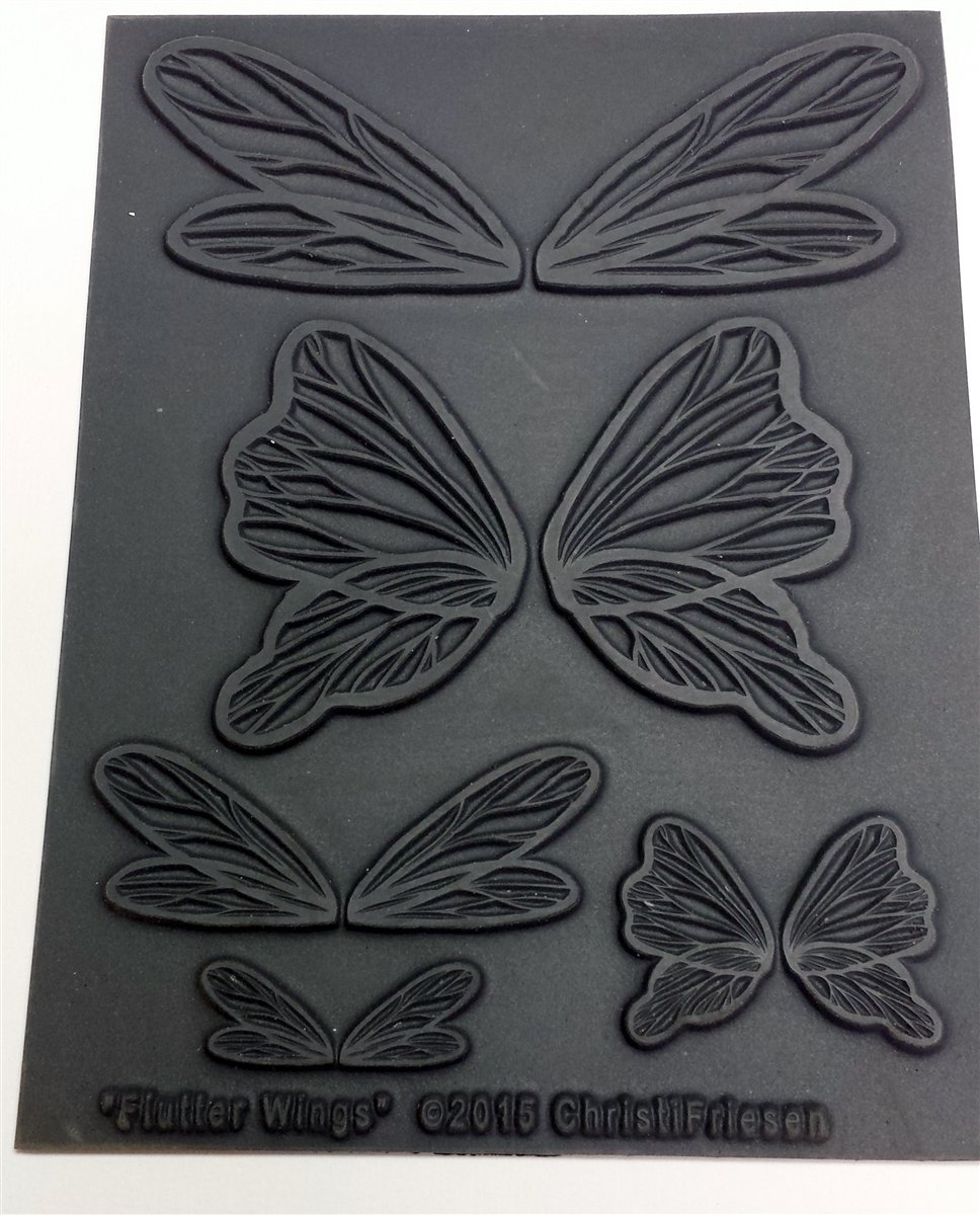 Flutter Wings Texture Stamp The Great Create