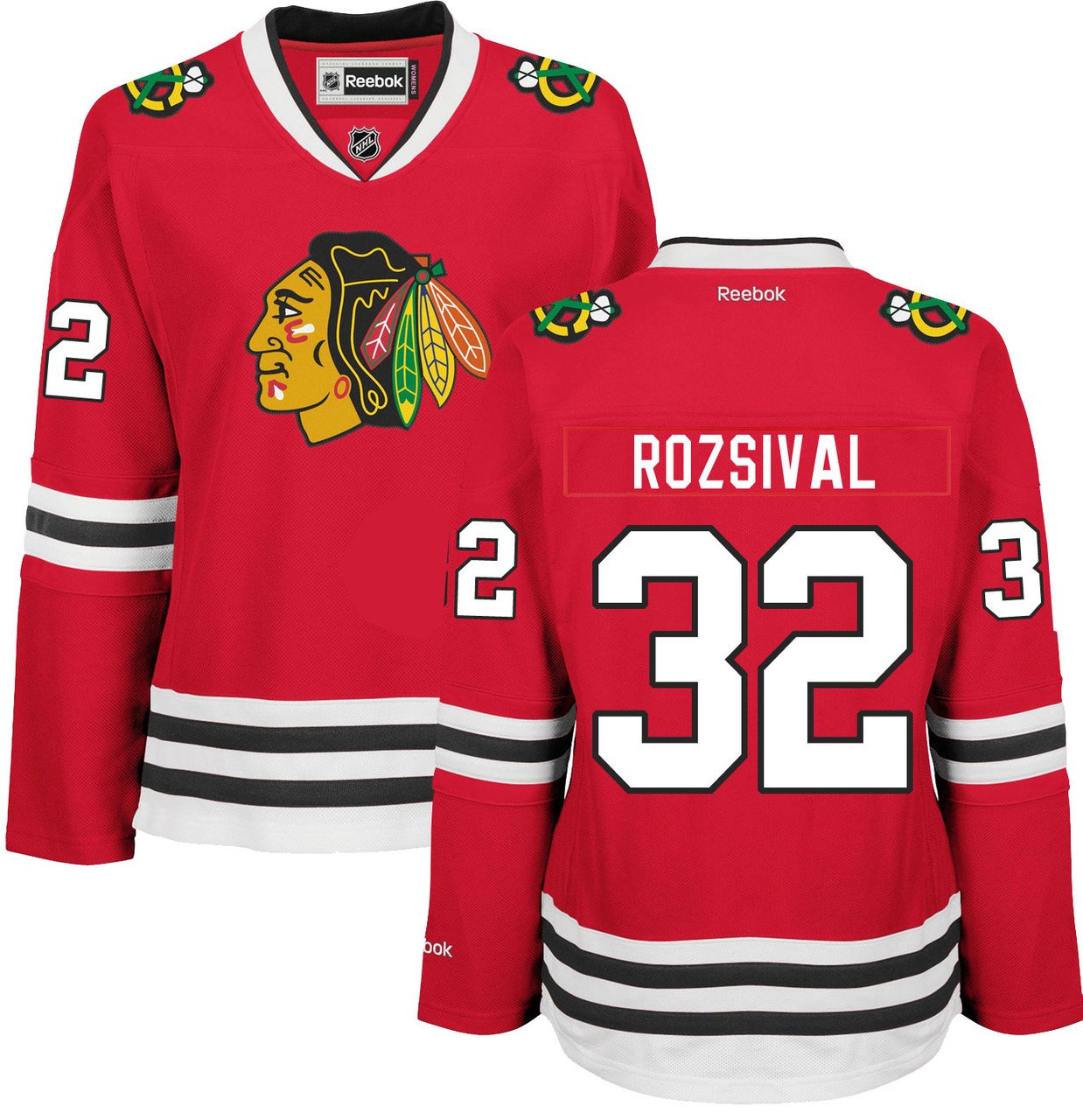 Amazon.com   Michal Rozsival Chicago Blackhawks Home Red Women s Premier  Jersey by Reebok   Sports   Outdoors 51ce1e2f0