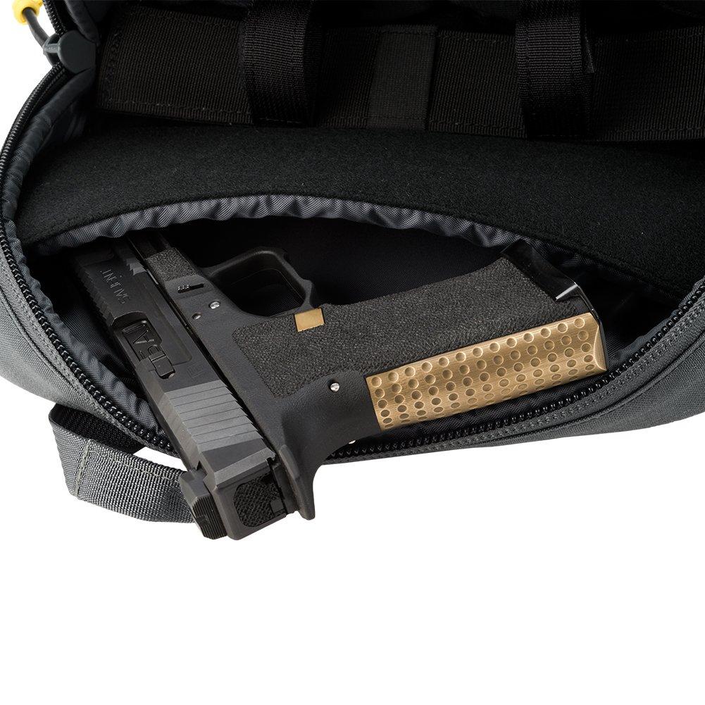 Evike Salient Arms International x Malterra Tactical Pistol Bag - Grey - (60929) by Evike (Image #7)