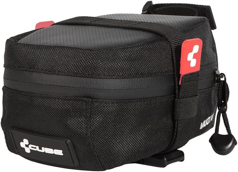 Black CUBE MULTI M Saddle Bag Size:M