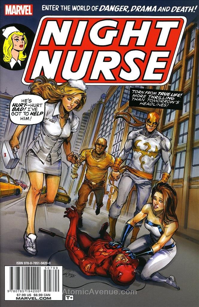 Night Nurse #Special 1 VF/NM ; Marvel comic book