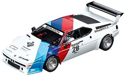 Carrera Digital 124 Slot Car Racing Vehicle - 23820 BMW M1 Procar Regazzoni No.28