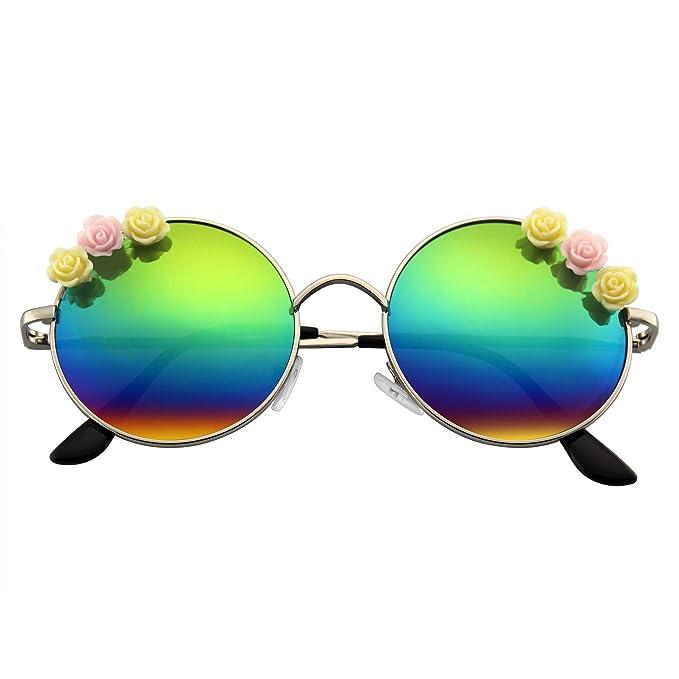 Emblem Eyewear - Flor Gafas De Sol Hippie Boho Festival ...