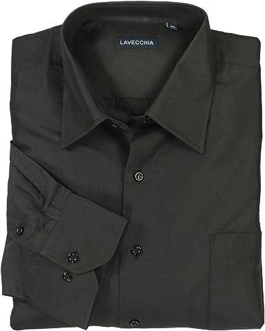 Lavecchia - Camisa formal - para hombre: Amazon.es: Ropa y accesorios