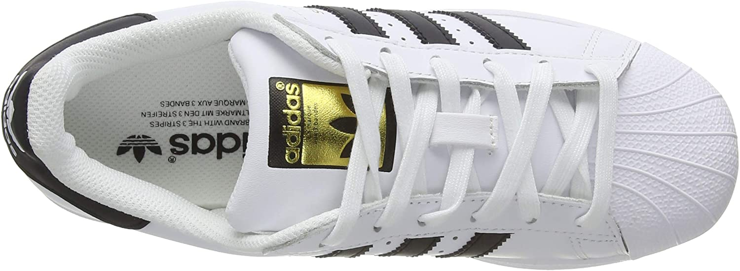 adidas Superstar Foundation Herren Sneakers Weiß Schuhe White Core Black Footwear White 0