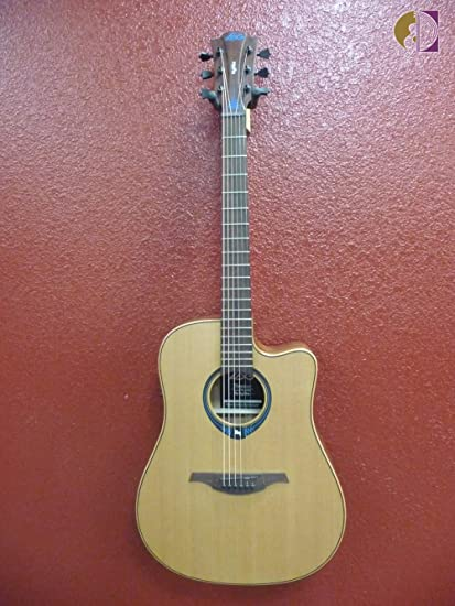 Lag Guitars Tramontane HyVibe THV10DCE Dreadnought Guitarra ...