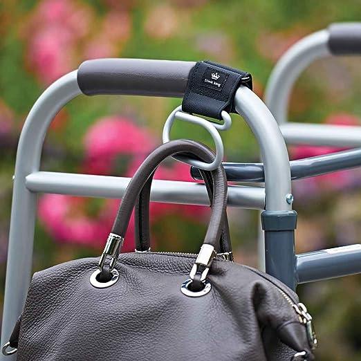 Think King Jumbo Swirly Hook for Stroller, Wheelchair, Rollator, Walker, Car, Boat, Gold/Black