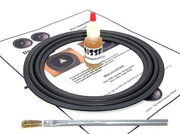 jbl 86160 ac180. toyota lexus jbl 8\u0026quot; single speaker foam surround repair kit - sienna, avalon, jbl 86160 ac180 6