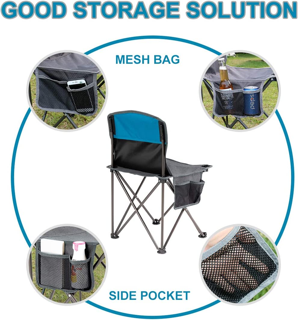 Lightweight,Foldable,Portable Garden//Hiking Portable Fishing Beach Seat Chair New Unibos Have Duty Pink Folding Camping Chair