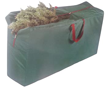 Christmas Tree Storage Bag For 7.5 Foot Artificial Tree (Green)