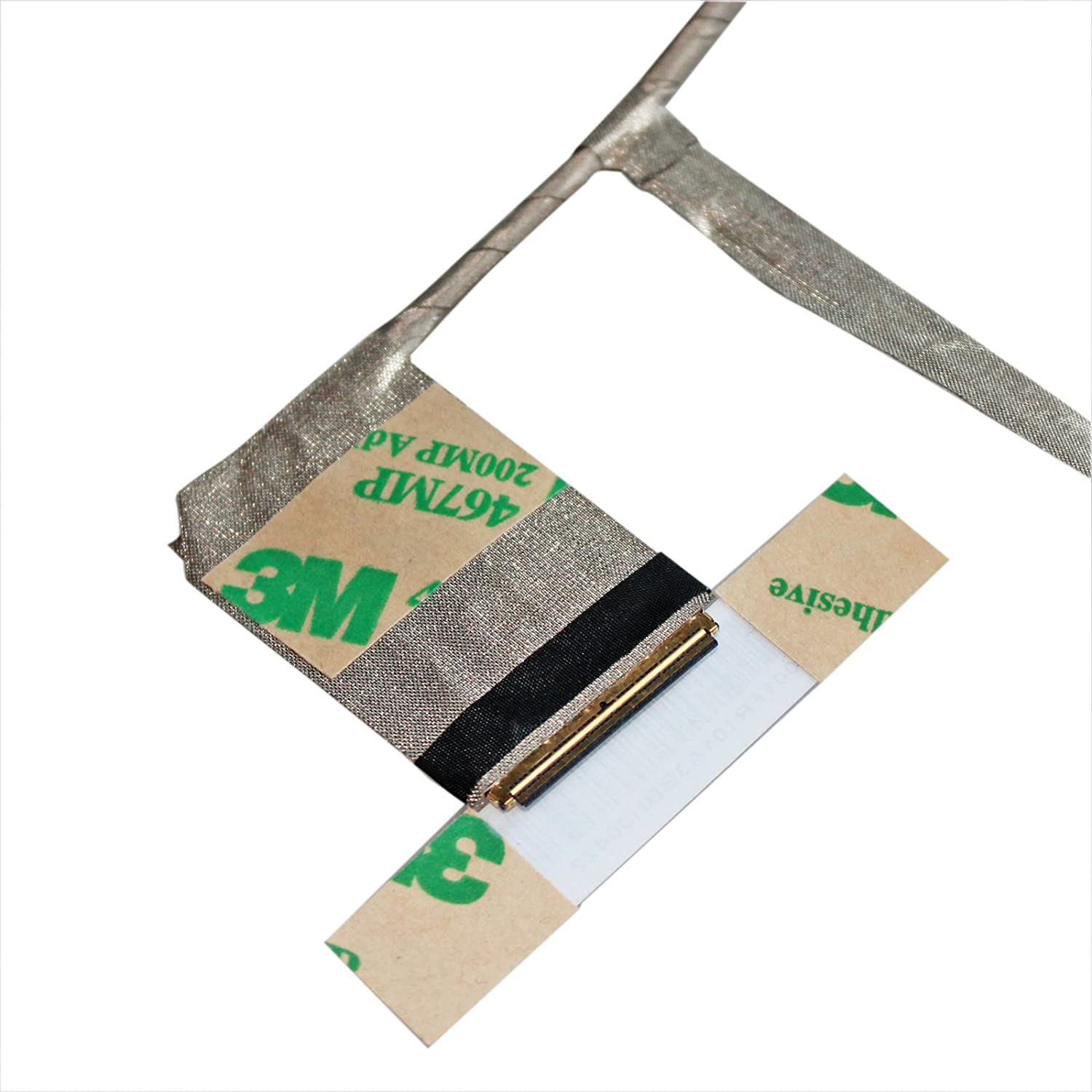GinTai LCD LED LVDS Screen Display Cable Replacement for DC02001FR10 DC02001FR00