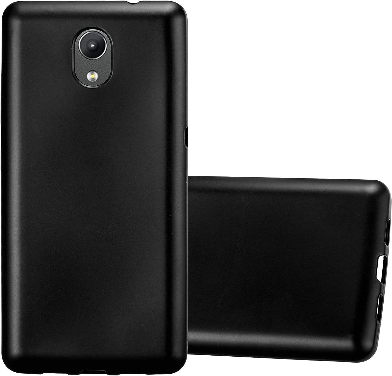 Cadorabo Funda para Lenovo P2 en Metallic Negro – Cubierta ...