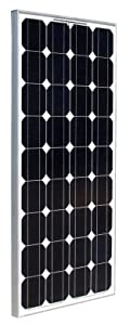 Ramsond 100 Watt 100w W Monocrystalline Photovoltaic PV Solar Panel Module 12V Battery Charging