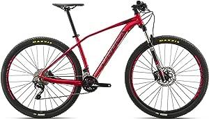 Orbea Alma H50 MTB 29er y 27,5er tamaños, color rojo y negro ...