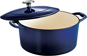 Tramontina 80131/075DS Enameled Cast 5.5-Quart Dutch Oven