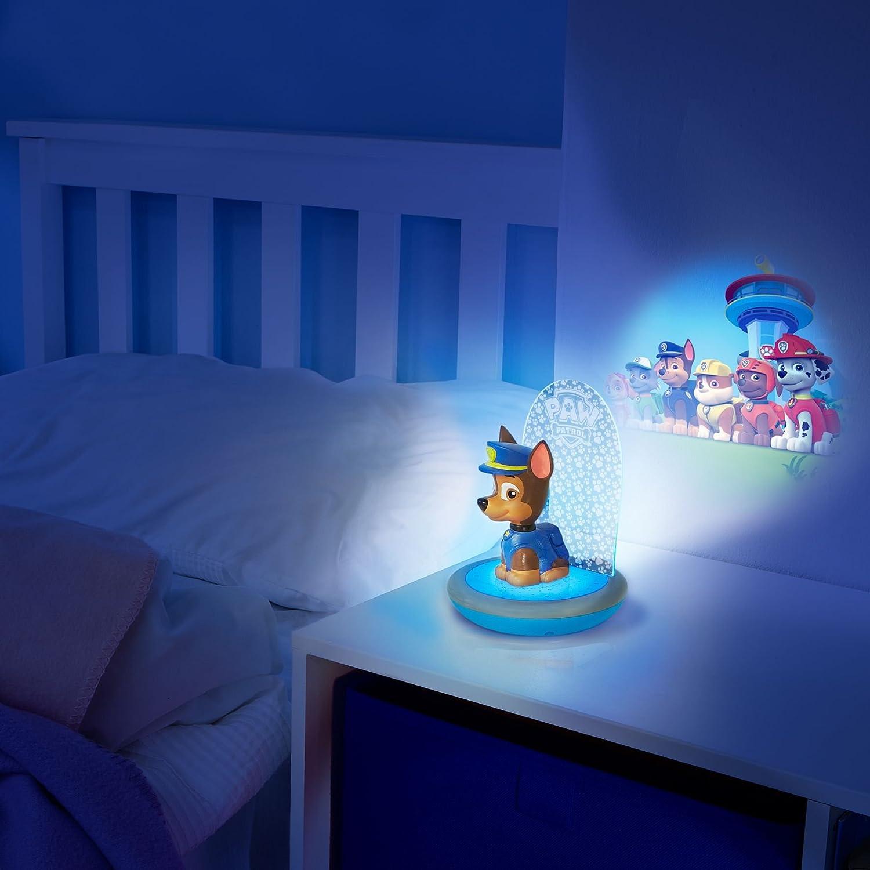 La Pat Patrouille lampe de poche et projecteur avec piles Basics Veilleuse magique GoGlow