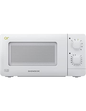 Daewoo QT1R Compact Manual Control Microwave Oven, 600 W, 14 Litre, White
