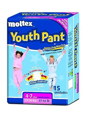 Moltex Youth Pants Bolsa de Braguitas de Noche - 15 Braguitas