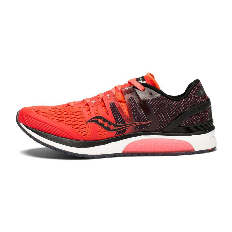 Saucony Women's Liberty Iso Red/Black-Grey S10410-2 Shoe B078HZB59N 8 B(M) US|Viz Red/Black/Grey