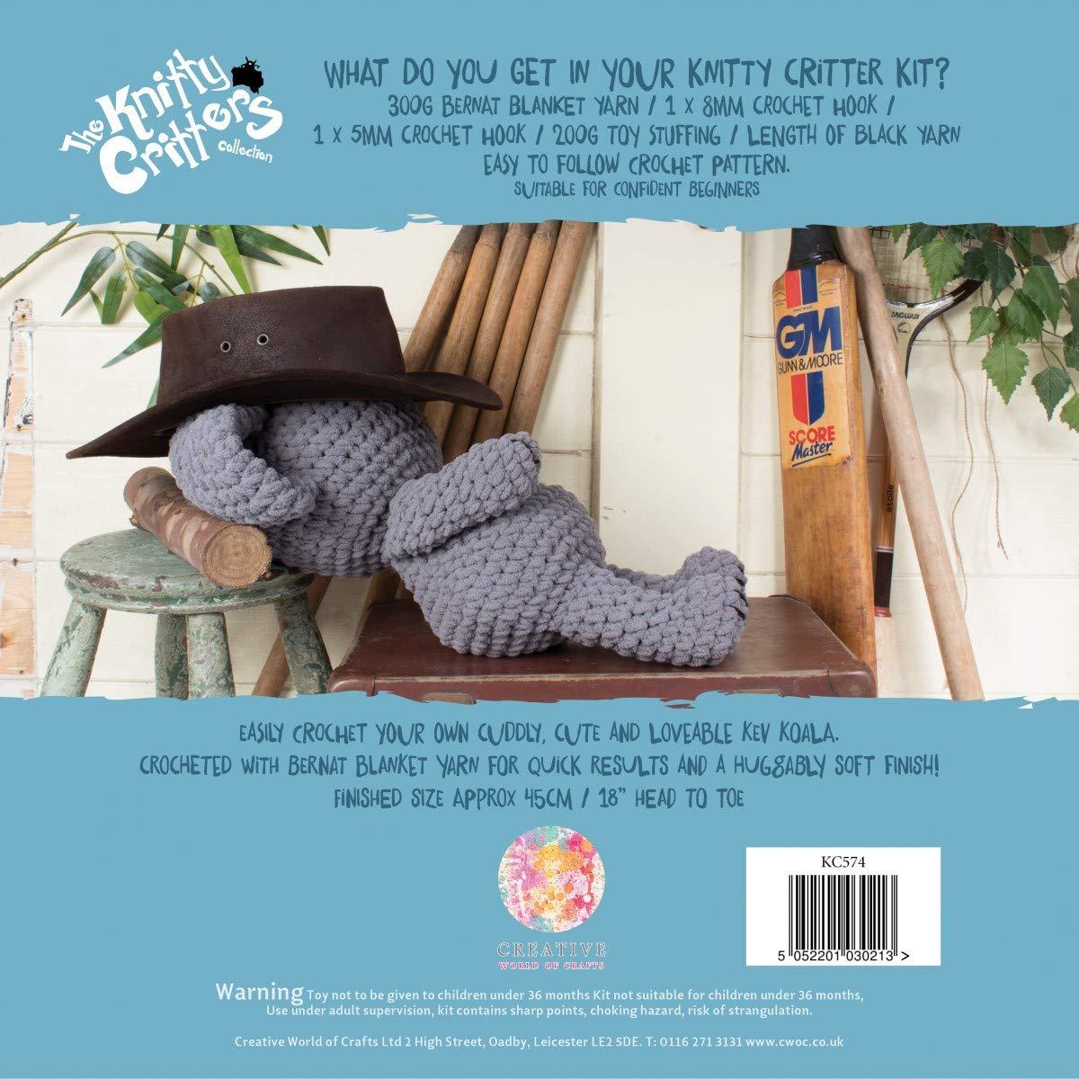 Kev Koala Knitty Critters